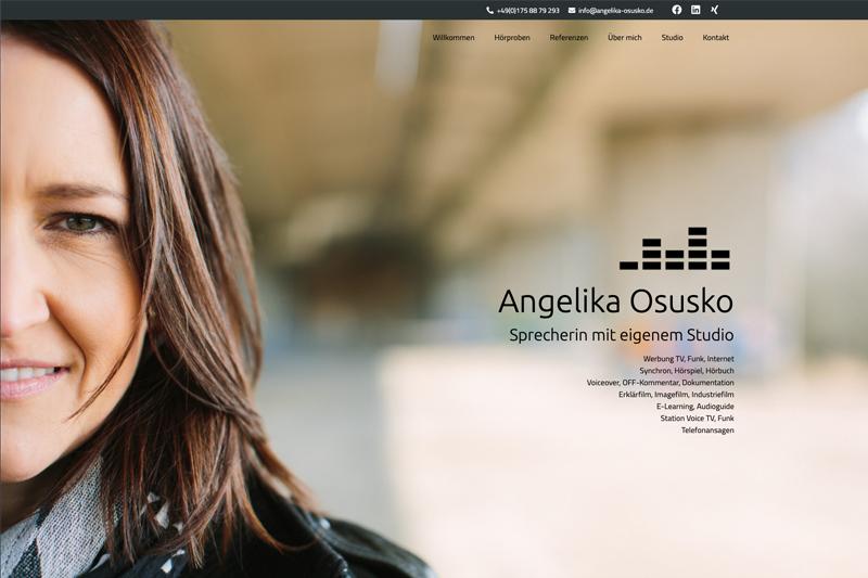 Sprecherin Angelika Osusko