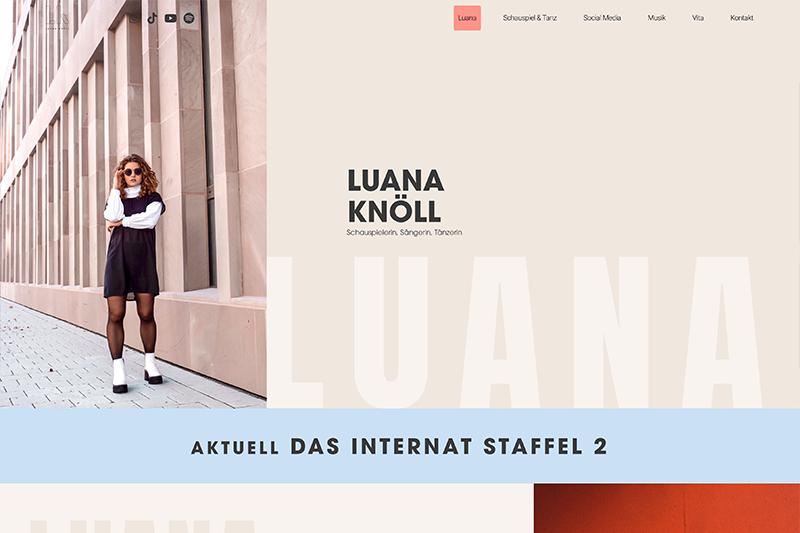 Luana Knöll Homepage